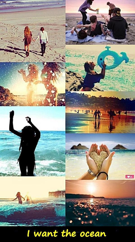 I want the ocean