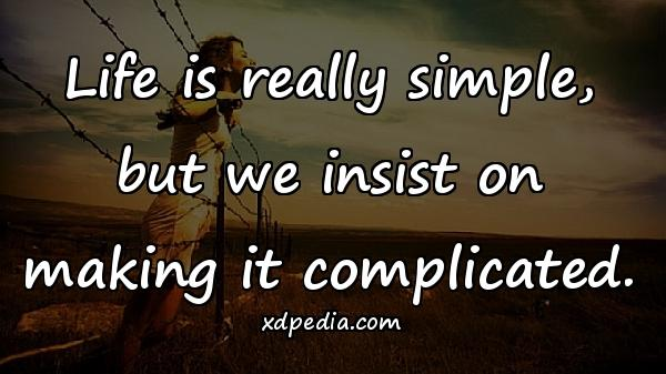 Quotes Complicated Aphorisms Best Mem Life Quotes Xdpedia