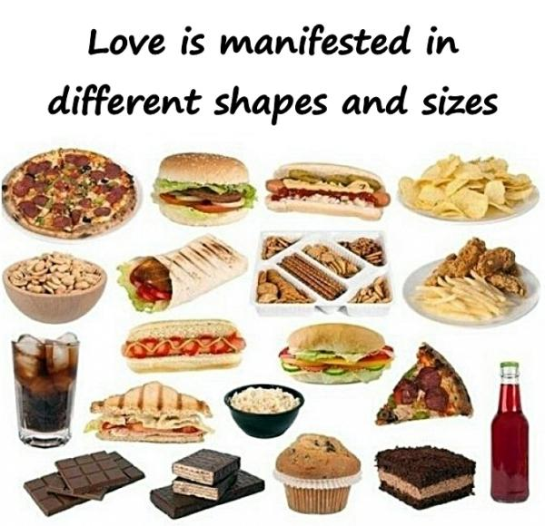 Love is manifested in different shapes and sizes