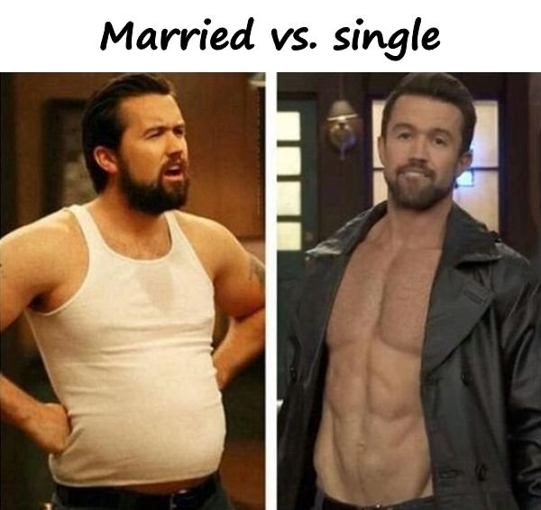 Married vs. single