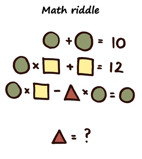Math riddle