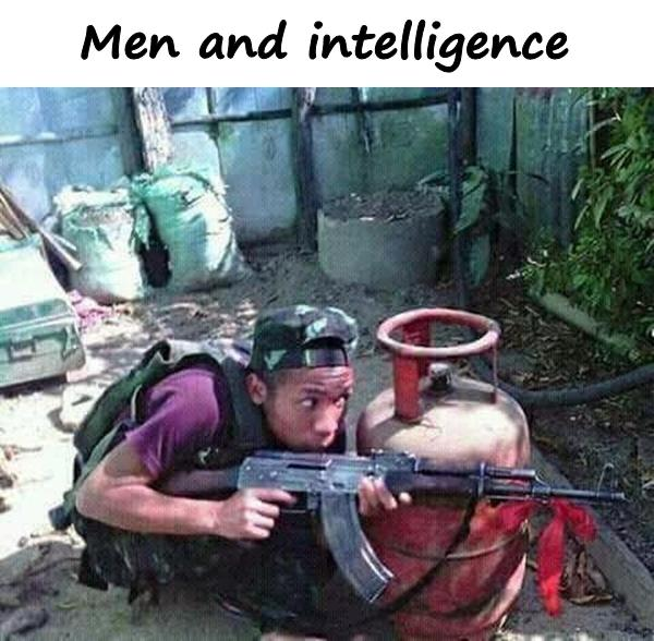 Men and intelligence
