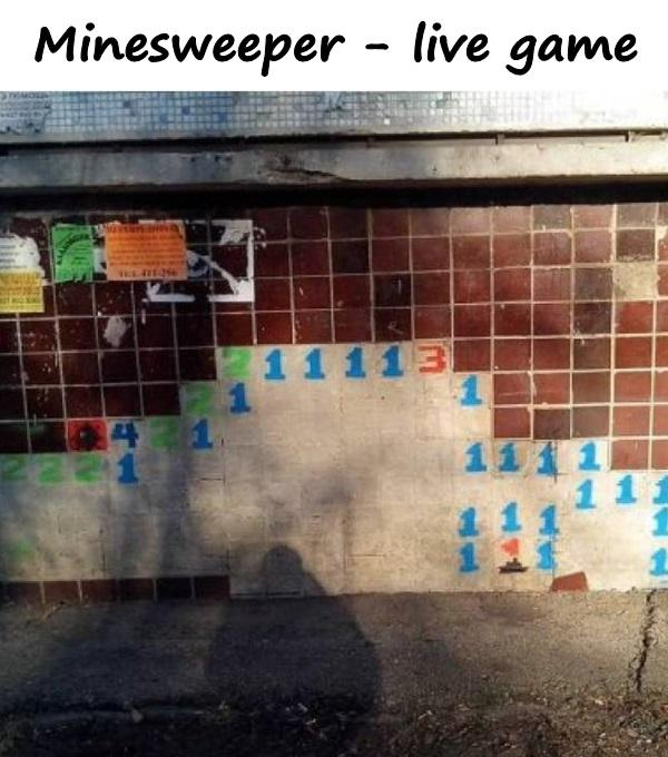 Minesweeper - live game