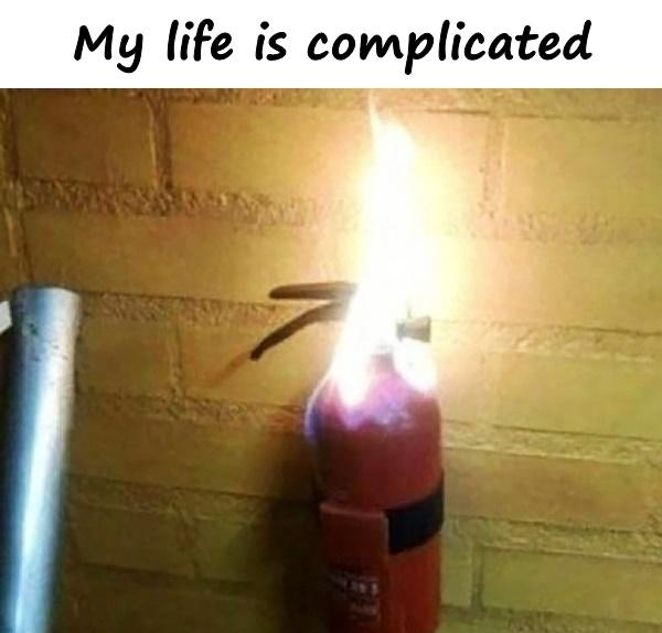 My life is complicated