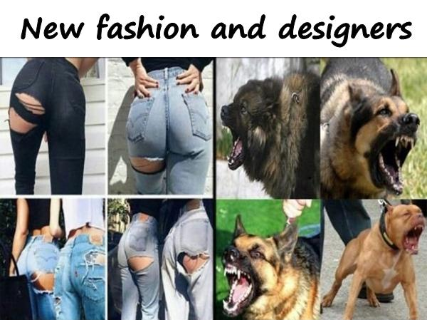 New fashion and designers