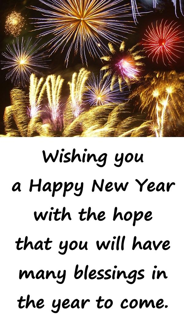 New Year Wishes: Wishing you a Happy New Year - xdPedia.com (2181)