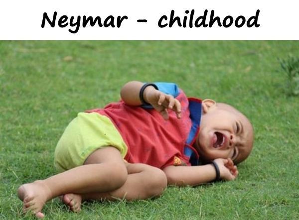 Neymar - childhood
