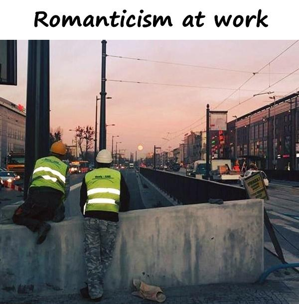 Romanticism at work