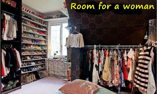 Room for a woman