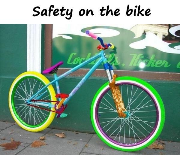 Safety on the bike