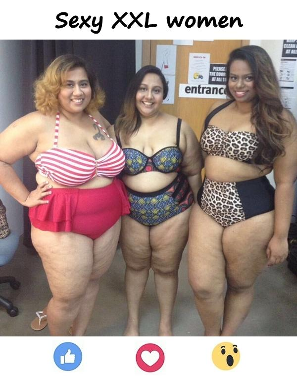 Sexy XXL women
