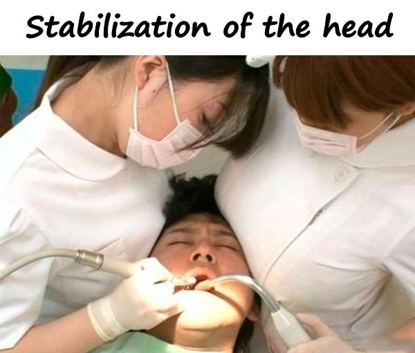 Stabilization of the head