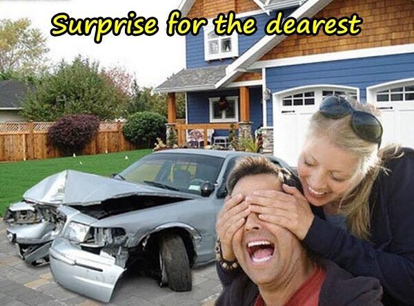 Surprise for the dearest
