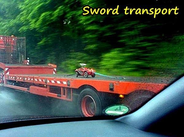 Sword transport
