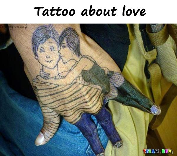 Tattoo about love