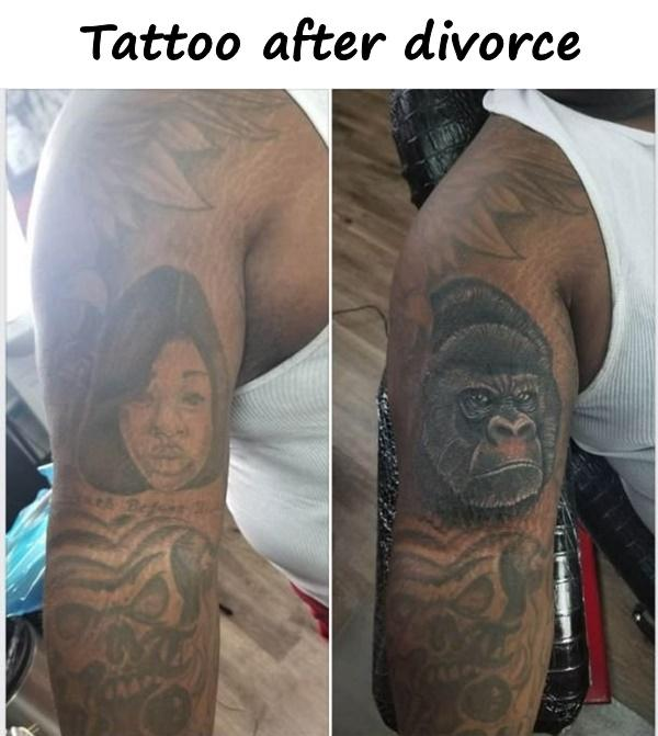 Tattoo after divorce