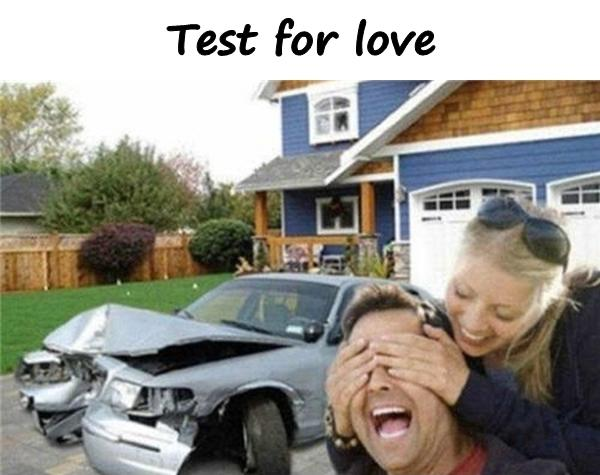 Test for love