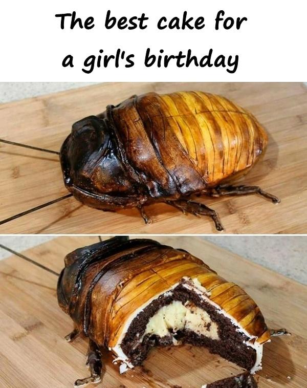 The best cake for a girl's birthday