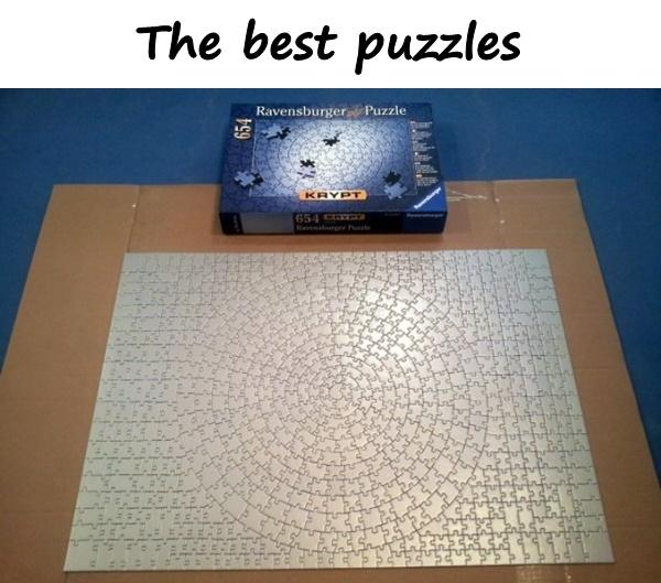 The best puzzles