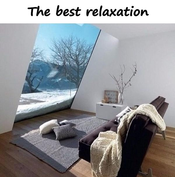 The best relaxation