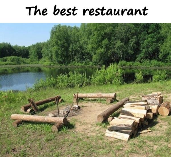The best restaurant
