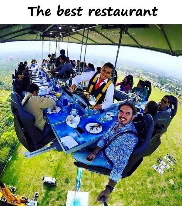 The best restaurant