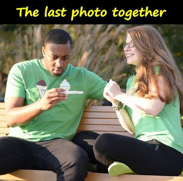 The last photo together