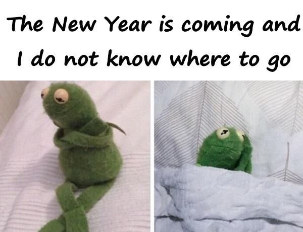 The New Year is coming and I do not know where to go