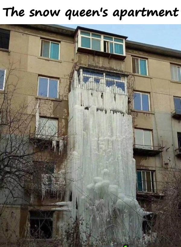 The snow queen's apartment