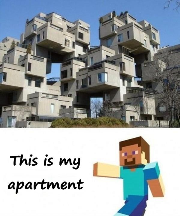 This is my apartment