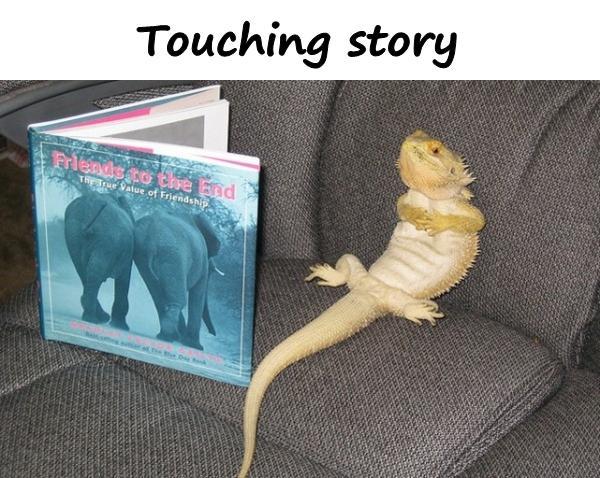 Touching story