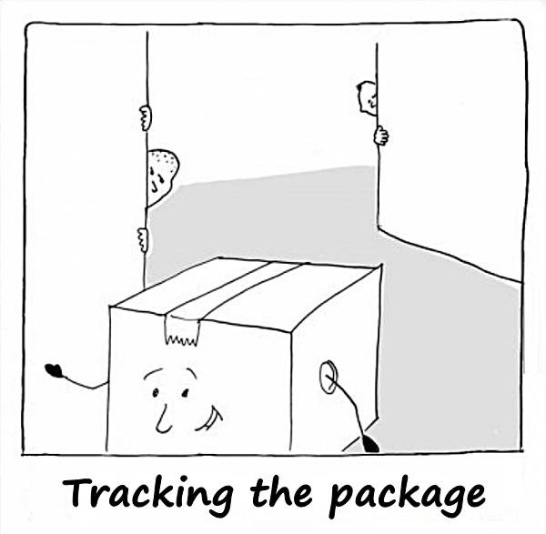 Tracking the package