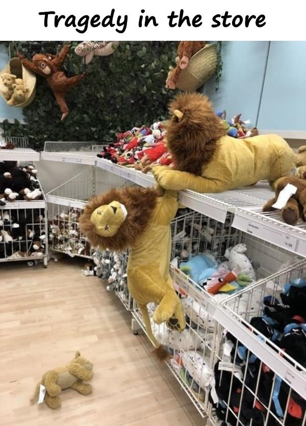 Tragedy in the store