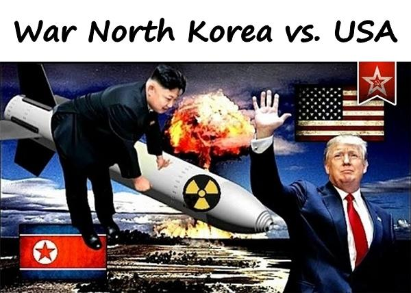 War North Korea vs. USA