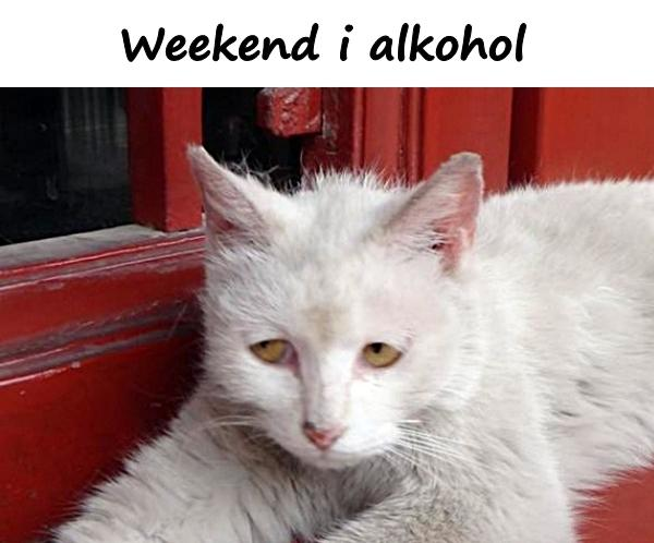 Weekend and alcohol