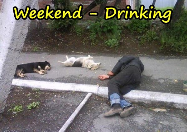 Weekend - Drinking