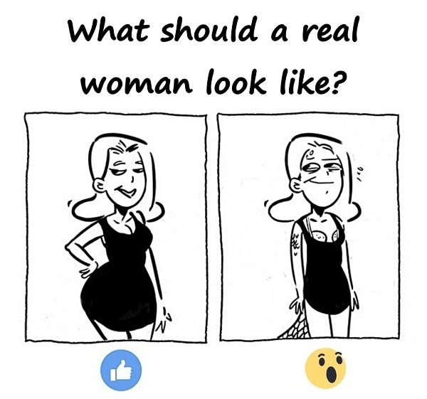 What should a real woman look like?