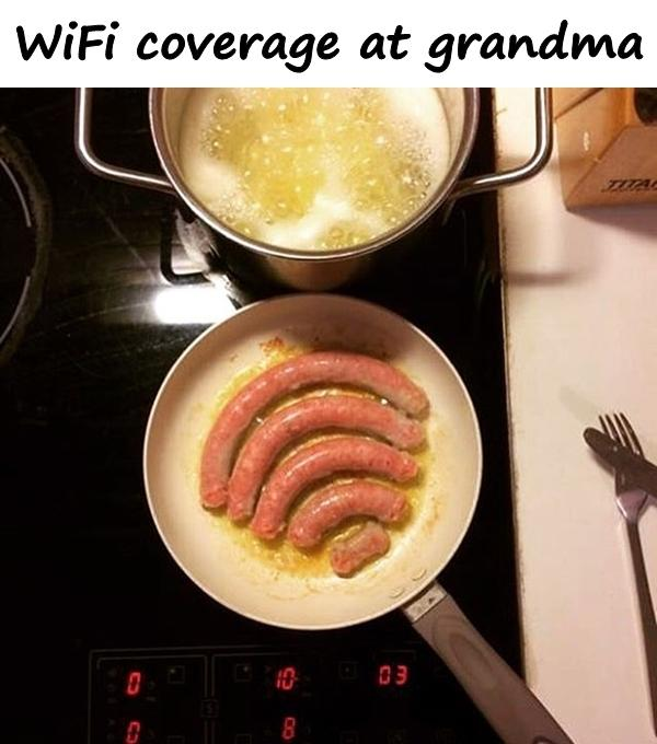 WiFi coverage at grandma