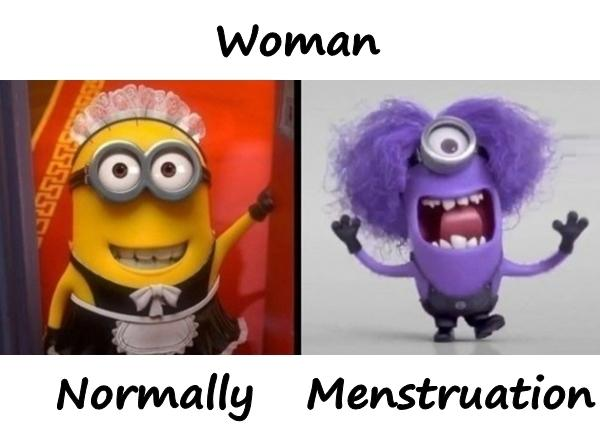 Woman and menstruation