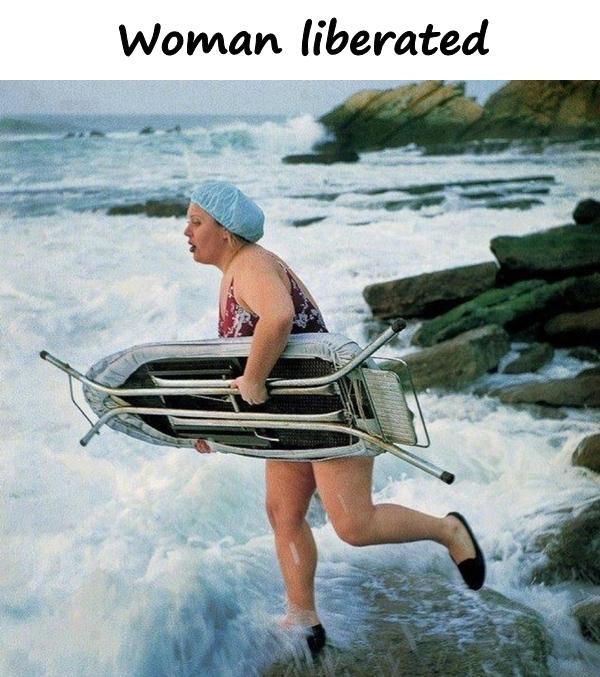 Woman liberated