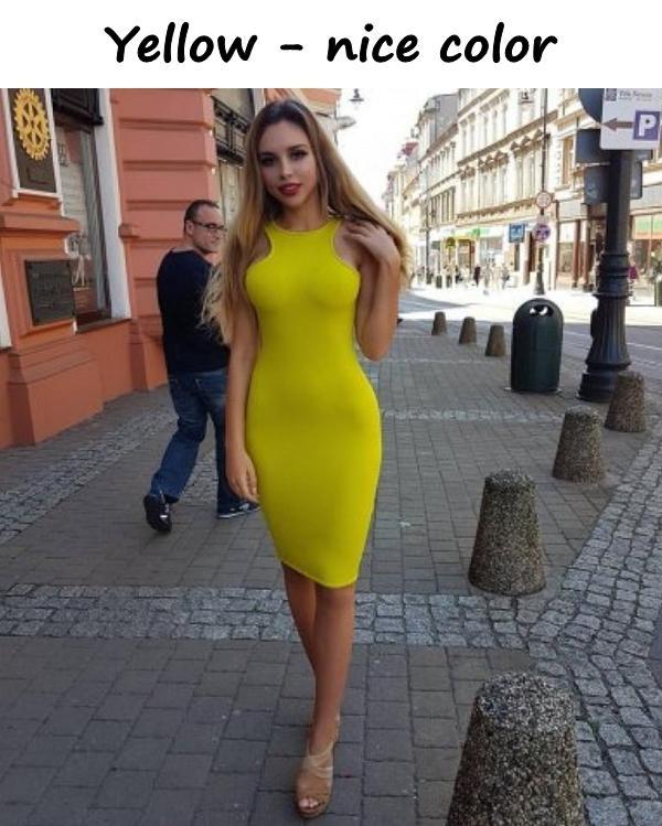 Yellow - nice color