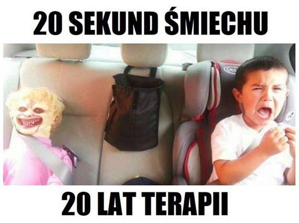 20 sekund śmiechu i 20 lat terapii