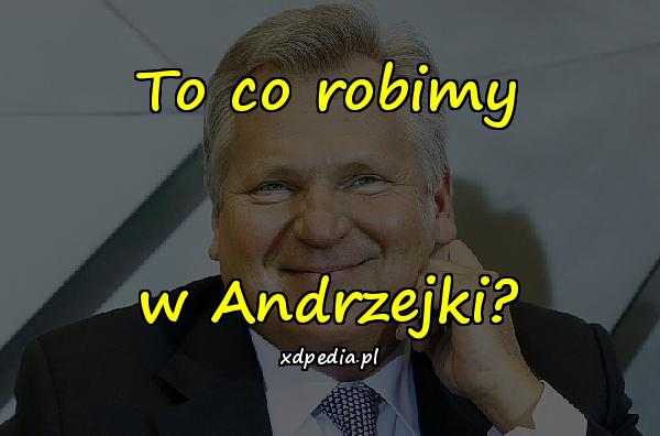 To co robimy w Andrzejki?