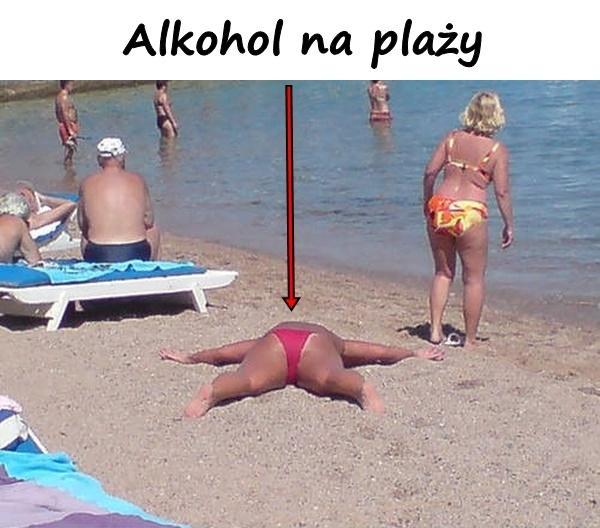 Alkohol na plaży