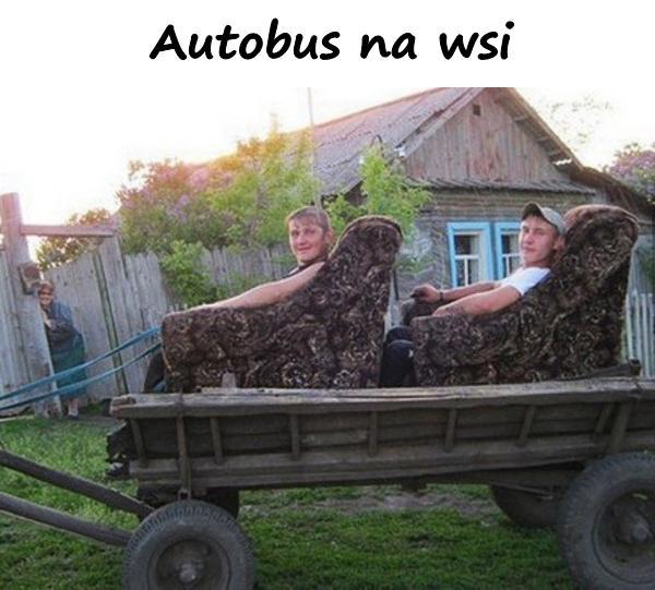 Autobus na wsi