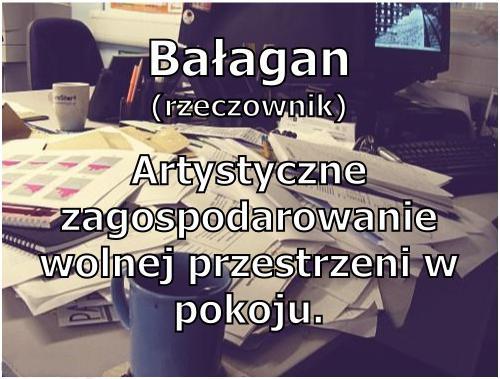 Bałagan - Artystyczne zagospodarowanie wolnej przestrzeni w pokoju.