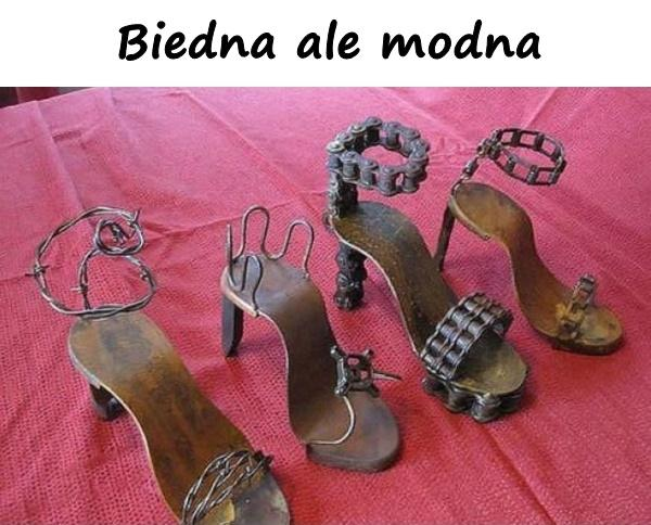 Biedna ale modna