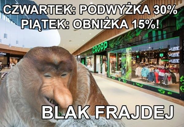 Blak Frajdej - Black Friday