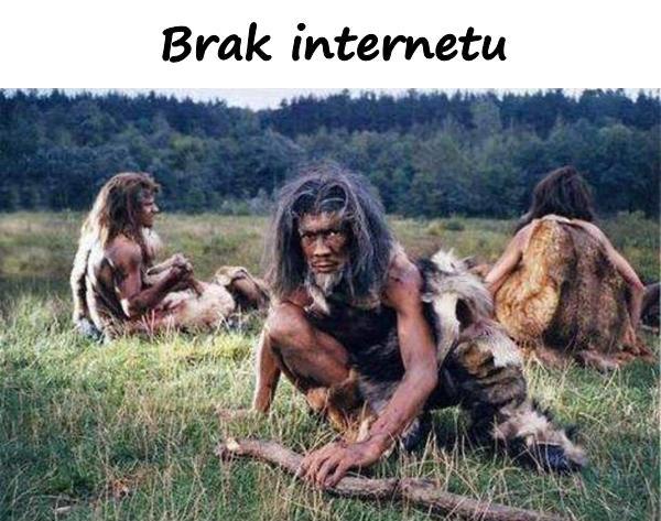Brak internetu