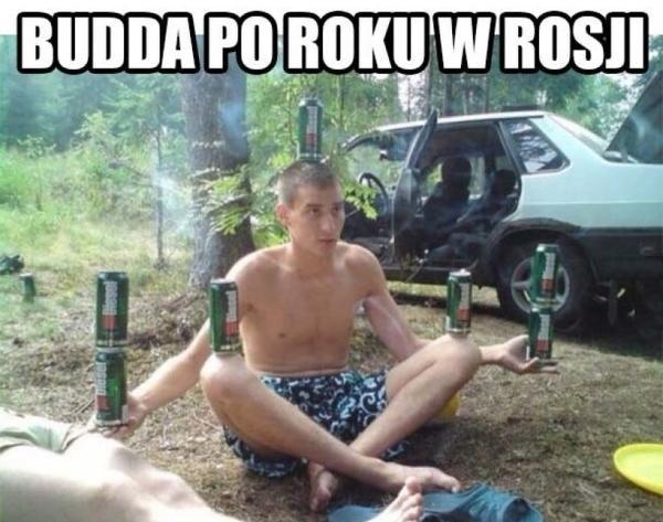 Budda po roku w Rosji